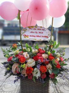 Shop hoa tươi huyện La Grai, điện hoa huyện La Grai, cửa hàng hoa.