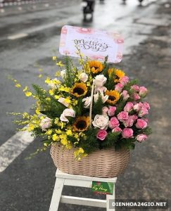 Shop hoa tươi huyện Đức Cơ, cửa hàng hoa, điện hoa huyện Đức Cơ.