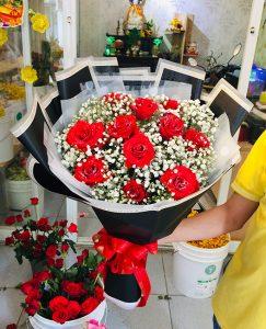 Shop hoa tươi tại Pleiku, hoa tươi sinh nhật, cửa hàng hoa, dịch vụ điện hoa Pleiku.